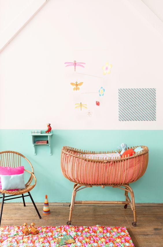 Inspiración para el dormitorio de tu bebé