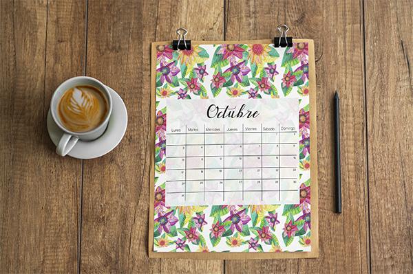 Descarga Gratis: Calendario de Katy Bielefeldt