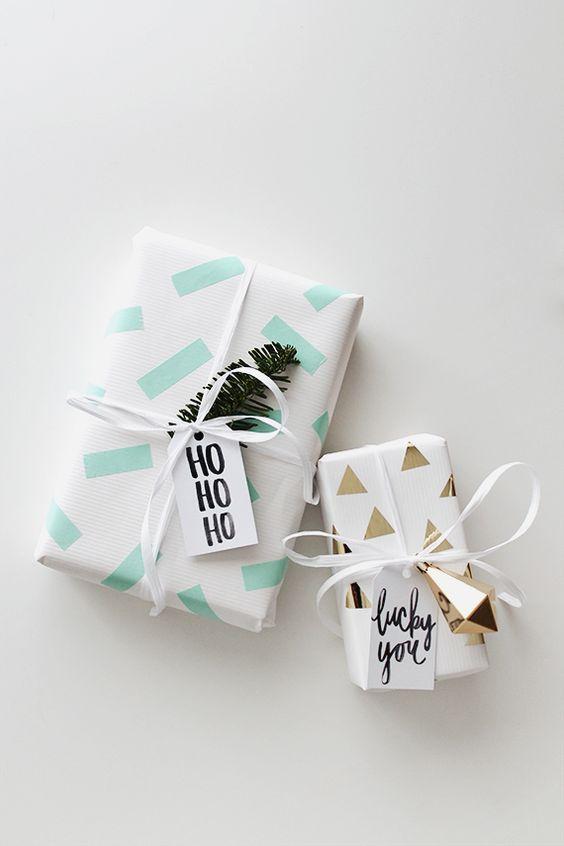5 ideas f ciles y creativas para envolver tus regalos - Ideas para envolver regalos navidenos ...