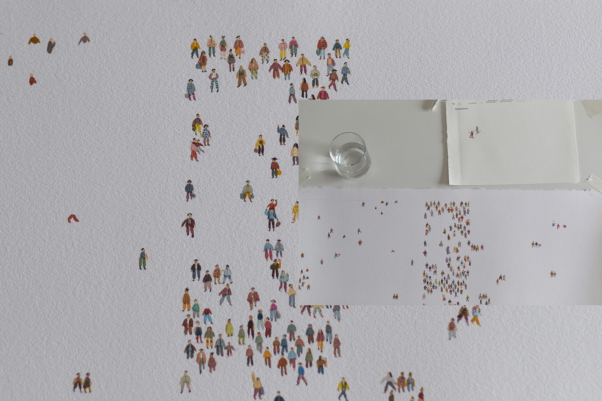 Colección, la exposición del Ilustrador Matías Prado