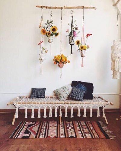 5 Ideas para decorar tu casa con macramé