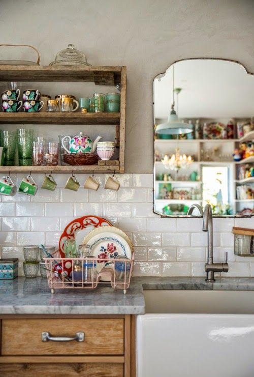 Muebles de cocina: descubre cómo combinar sus materiales ...