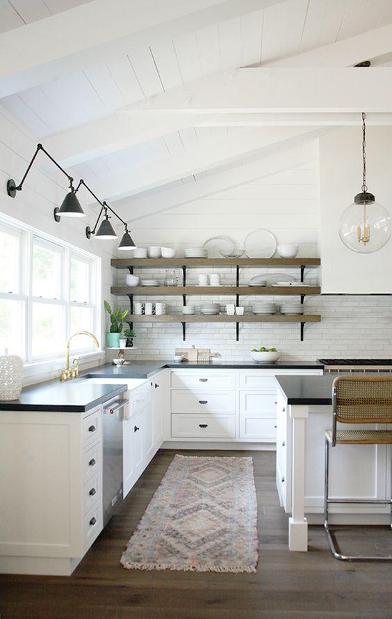 Muebles de cocina descubre c mo combinar sus materiales - Materiales muebles de cocina ...
