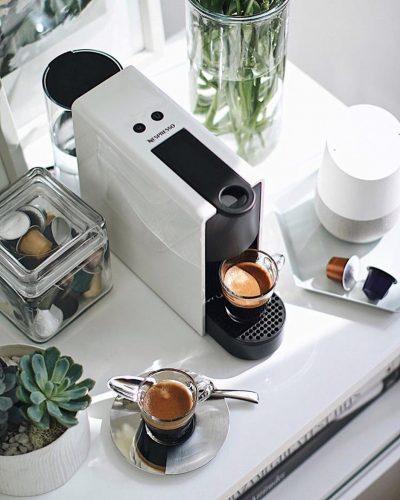 5 lugares donde puedes poner la Essenza Mini de Nespresso