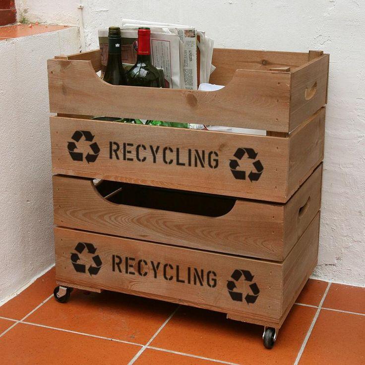 Organiza tu reciclaje de una vez por todas con estas ideas