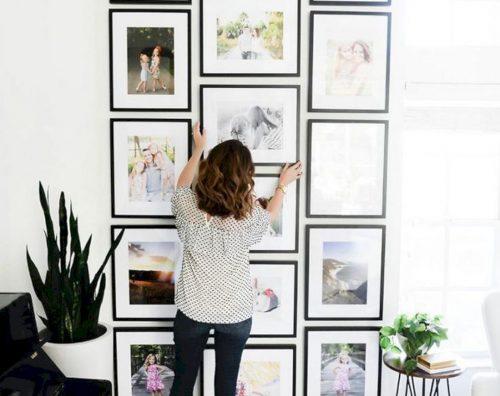 Las mejores ideas para incorporar fotos familiares a la decoración