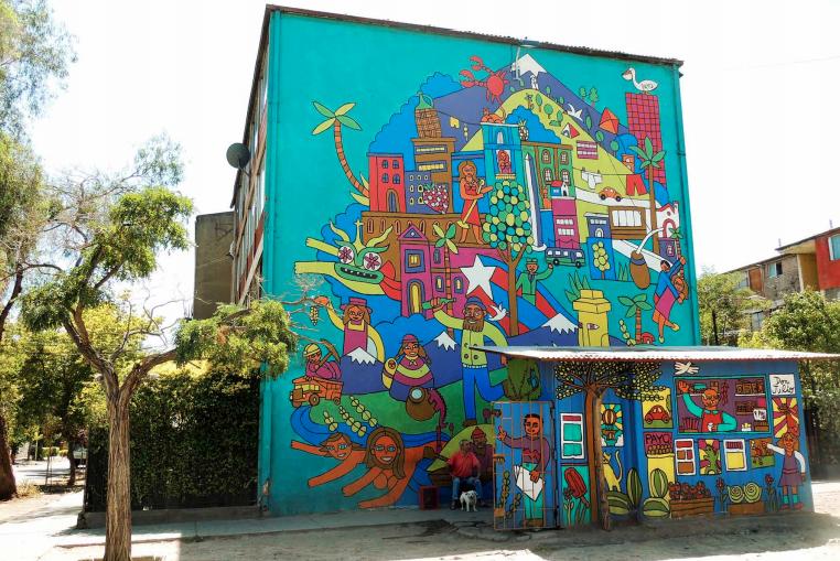 Ruta Urbana Los Murales Mas Fotogenicos De Chile Depto51 Blog