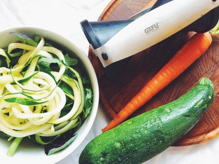 Qué es un cortador espiral y qué puedes cocinar con él