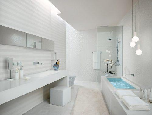8 Ideas para baños grises y blancos