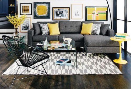 Elegimos los 8 mejores sofás grises del mercado