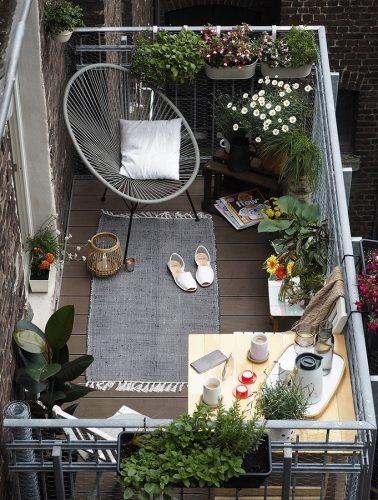 Cómo sacar el máximo rendimiento a una terraza pequeña