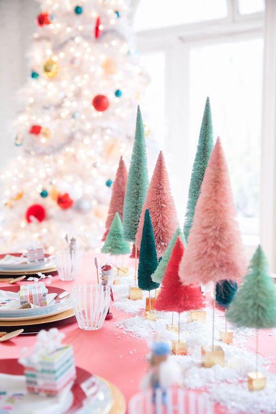Estas son las tendencias 2018 para decorar con estilo tu mesa navideña