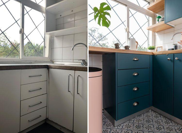 El Antes y Después de nuestra cocina