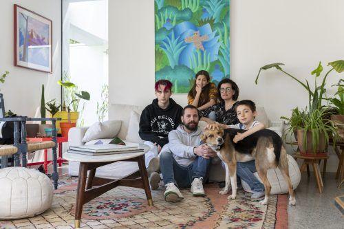 Francisca Eyzaguirre, Mariano Fernandez y Mariano, Elisa y Jerónimo